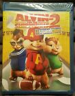 BRAND NEW! Alvin and the Chipmunks: The Squeakquel (Blu-ray Disc, 2010)