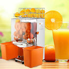 Commercial Electric Orange Squeezer Juice Stainless Lemon Citrus Fruit Maker