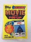 1981 Topps Movie Giant Pin-Up COMPLETE NM SET Jaws Star Wars Rocky Superman