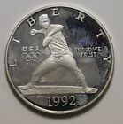 US Silver Proof 1992 - S Nolan Ryan Olympic Commemorative  coin FREE SHIPPING!