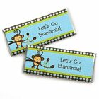 Monkey Boy Candy Bar Wrappers Party Favors Set of 24