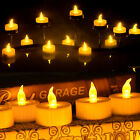 LED Tealight Candles Battery Operated Flameless smokeless fr Wedding Party Decor