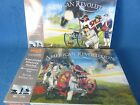 BRITISH Cannons w/ crews - 2 differant sets, 54MM Toy Soldiers