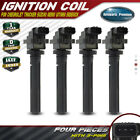 4x Ignition Coils Pack for Suzuki Aerio Esteem Vitara Sidekick Tracker 01 04