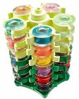 Clover Stack-N-Store Bobbin Tower Keep Up To 30 Bobbin Sewing Tool Organized New