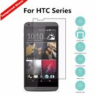 9H Premium Tempered Glass Screen Protector Film Guard Case Cover For HTC Models