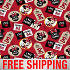 Fleece Fabric Disney Minnie Mouse Style 59591 Free Shipping