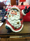 Fitz and Floyd Snow Business Cookie Jar