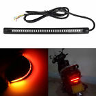32-SMD Red Amber LED Bar For Brake Tail Light & Turn Signal Lamp Motorcycle Bike