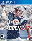 Madden NFL 17 PS4 New Game