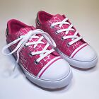 Umi Terri Canvas Lace Up Rose Pink Sneaker for Little and Big Kids