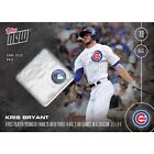 2016 Topps Now KRIS BRYANT #370-B GAME USED BASE RELIC 99 SOLD OUT PRE SALE