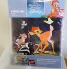 The Wonderful World of Disney - Fabric Art - BAMBI - NEW In Wrapper