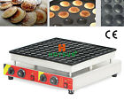 Commercial Electric 100pcs 4.5cm Poffertjes Mini Dutch Pancake Waffle Iron Maker
