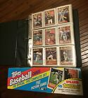 Topps Complete 1992 Baseball Card Set - in Binder and Sleeves, box included
