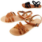 New Women Gladiator Sandals Shoes Thong Flops Flip Flat Strappy Open Toe