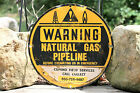 SIGN WARNING Natural Gas Pipeline COPANO FIELD SERVICES
