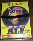 Vintage Box of 48 Alf Series One Trading Cards