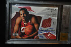 BUYBACK RC AUTO 2 3! 2003 LeBron James Exquisite Ultimate Collection Jersey BGS!