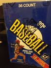 1981 Donruss Baseball Unopened Wax Box BBCE Sealed PERFECT Authenticated