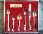 1847 Rogers Bros Silverplate Antique silverware set 6 pc