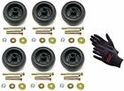 6 Deck Wheel Kit Exmark Viking Lazer Z Toro 72 Groundsmaster Zero Turn Mower