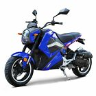 New DONGFANG 50CC Min Bike Motorcycle Scooter DF50STT Grom Blue