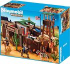 Playmobil 5245 Rare Big Western Fort with Idians and Soldiers   NEW /  SEALED
