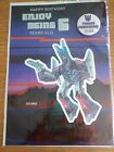 Vintage Transformers Pin Badge BirthdayCard Enjoy being 6 years old CYCLONUS
