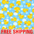 Fleece Fabric Rubber Duckies Fabric 60 Wide Style 35988 Free Shipping