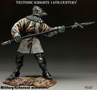 Tin soldiers 54 mm Teutonic Knights 14th century HAND PAINTED