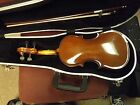 Used Student Violin Romania 1/4 Size Case and Bow GT-515