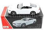 Maisto 2015 Ford Mustang GT 50 118 Diecast Exclusive Edition 38133 White