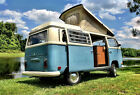 Volkswagen Bus Vanagon Custom 1970 VW Camper Westfalia Pop Top Campmobile Westy Pop Up Van RV