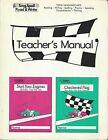 Sing Spell Read  Write Start Your Engines Checkered Flag K 1 K 2 Teacher