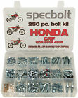SPECBOLT Bolt Kit Honda CRF150R CRF250R CRF450R Plastics Body Engine Brake