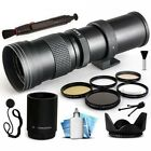 420mm 1600mm f83 HD Telephoto Lens Bundle for Canon EOS Kiss X70 X50 X7i X6i X5
