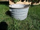 Galvanized Bucket Barn Fresh Farm House Distressed 8.5