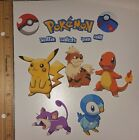 NEW POKEMON GO CARDSTOCK DIE CUTS ENTIRE SET AS SHOWN