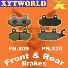 Front Rear Brake Pads for HYOSUNG XRX125 XRX 125 Supermoto 2007-2011