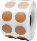 Circle Dot Stickers 12 Inch Round 1000 Labels On A Roll 53 Color Choices