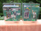2 Starting Lineup John Elway Action Figures 1999 & 2000 With Display Cases~New