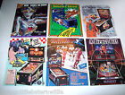 Lot Of (6) ORIG. NOS WILLIAMS PINBALL MACHINE Flyers DINER ROLLERGAMES set #25