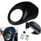 Headlight Front Cowl Fairing Mask For Harley Sportster Dyna FX XL 883 1200
