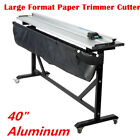40 Aluminum Alloy Rotary Large Format Paper Trimmer Cutter + Support Stand
