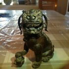 Antique Chinese Bronze Foo Dog Statue