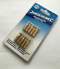Ph4 Pack Of 10 Phillips Diamond Screwdriver Bits - Silverline Coated 10pcs No.4