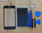 Huawei Ascend Y550 Digitizer Touch Screen Glass & LCD Display + Tool White Black