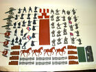 Confederate Infantry Toy Soldiers Play Set