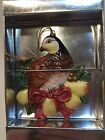 Fitz and Floyd Christmas Holiday Porcelain Ornament Partridge in a Pear Tree